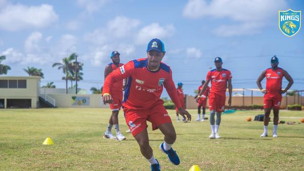 Final training for the Kings ahead of the clash against the Tallawahs