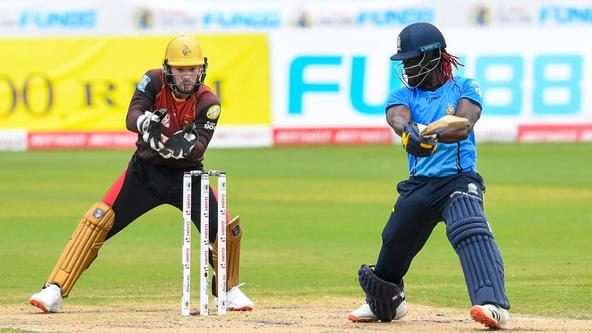 St. Lucia Zouks vs Trinbago Knight Riders, 2020