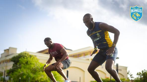 Training begins for Saint Lucia Kings ahead of CPL 2021