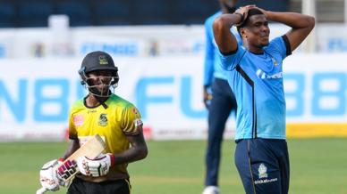 St. Lucia Zouks vs Jamaica Tallawahs, 2020