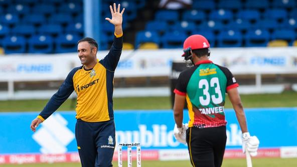 Magnificent Mohammad Nabi creates a bit of CPL history with the ball
