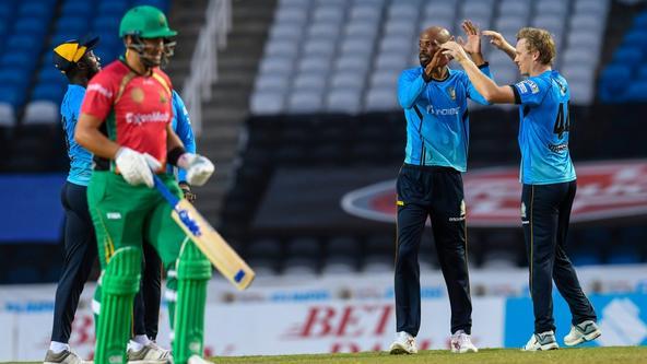 Zouks steamroll Guyana Amazon Warriors in semis, get ten-wicket win